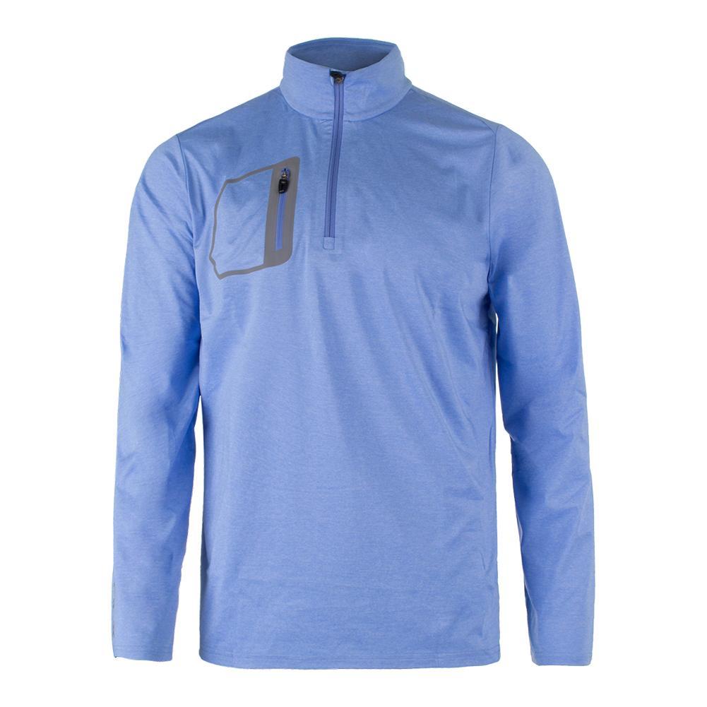 Men's Brushed Back Jersey Layer Cabana Blue Heather