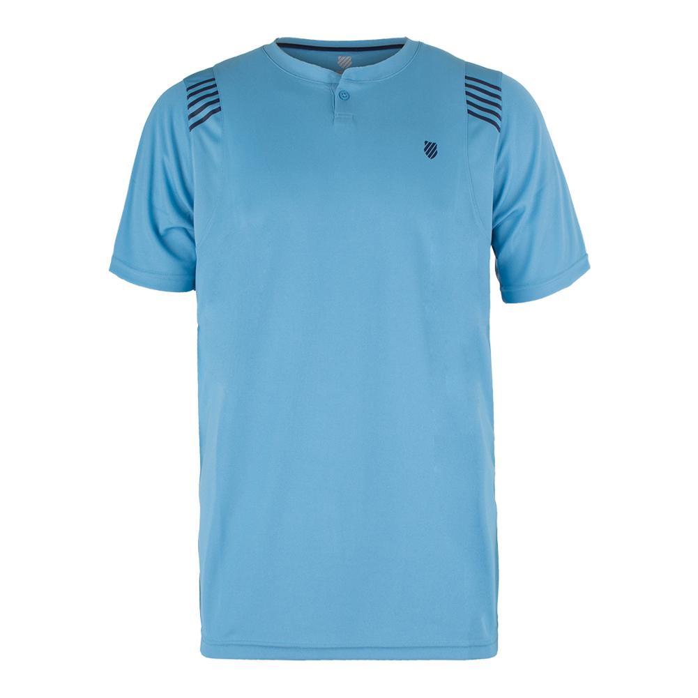 Men's B2 Tennis Crew Blue Grotto