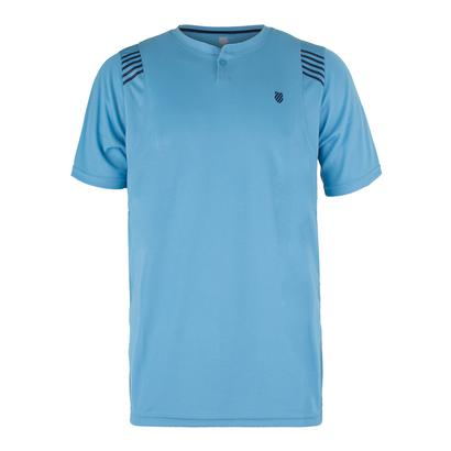 Men`s B2 Tennis Crew Blue Grotto