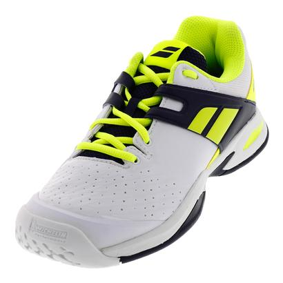 Juniors` Prop All Court Tennis Shoes White and Yellow