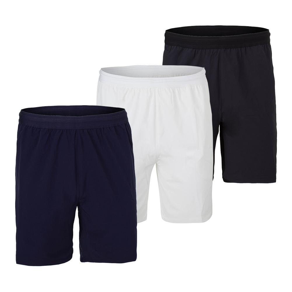 Men's Novak Stretch Taffetas Tennis Short