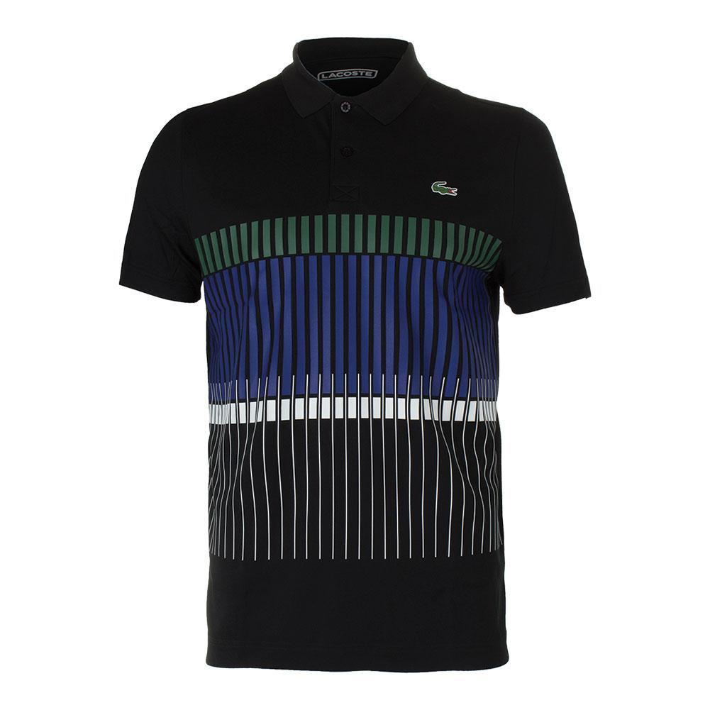 Men's Novak Ultra Dry Stripe Tennis Polo