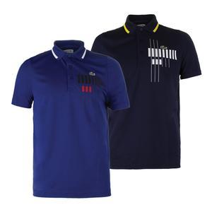 Men`s Novak Ultra Dry Graphic Tennis Polo