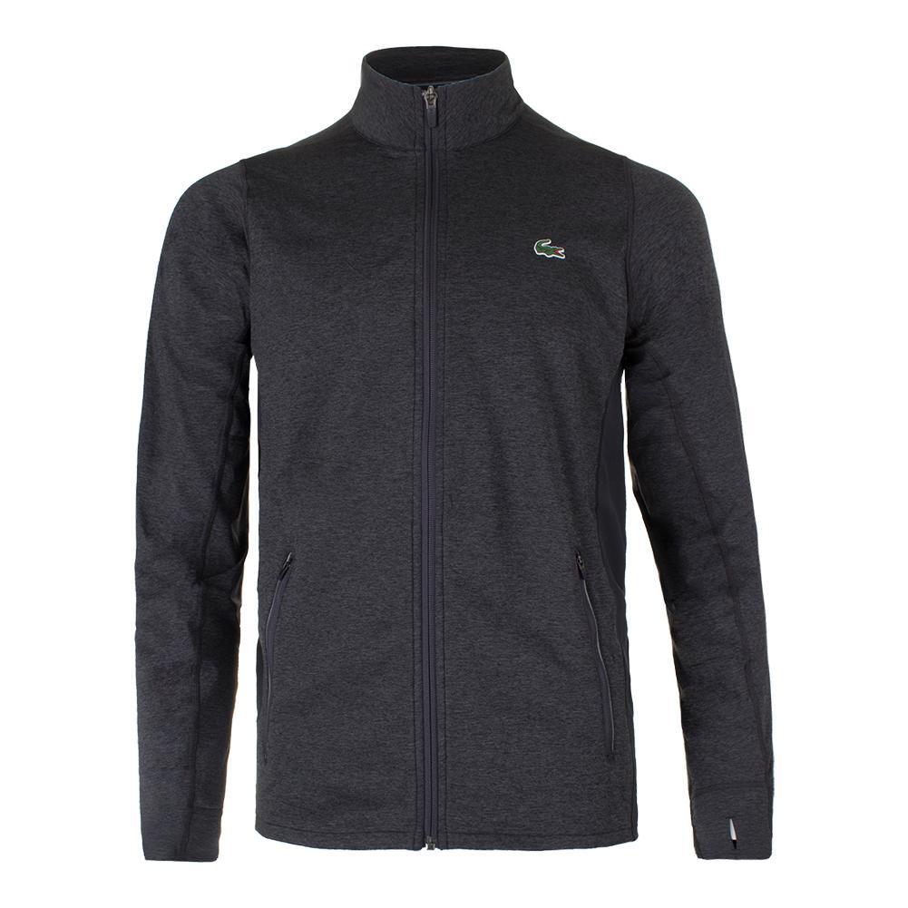 Men's Novak Tennis Sweatshirt Pitch And Graphite