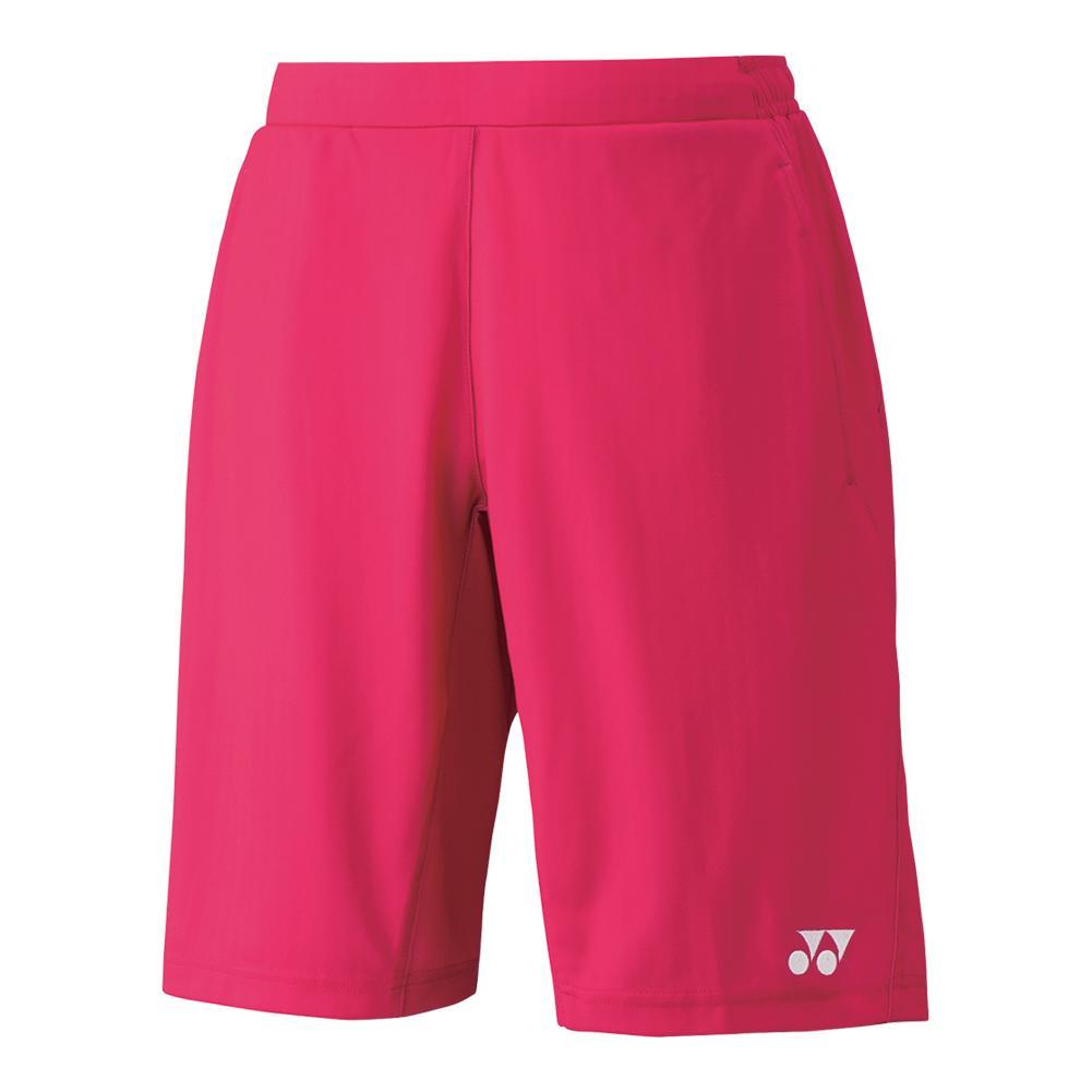 Men's Melbourne Tennis Short Dark Pink