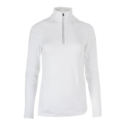 Women`s Thermopolis 1/2 Zip Top Brilliant White