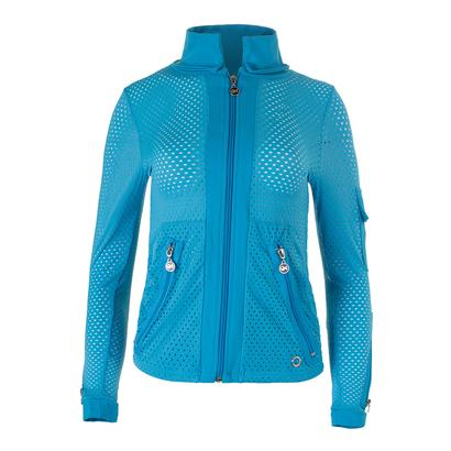 Women`s Cosmo Tennis Jacket Turquoise