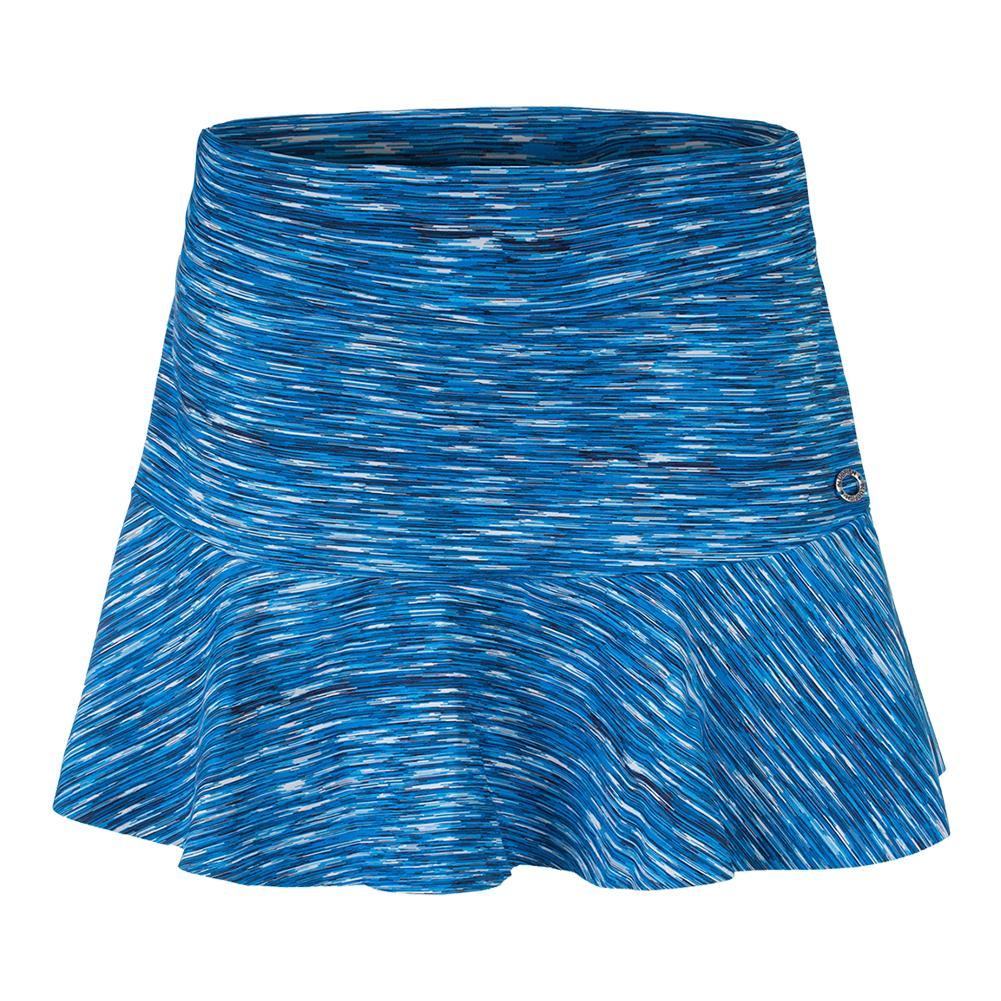 Women's Tennis Skirt Island Print