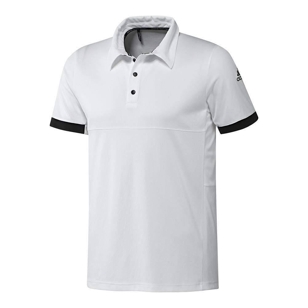 Men's T16 Cc Tennis Polo White