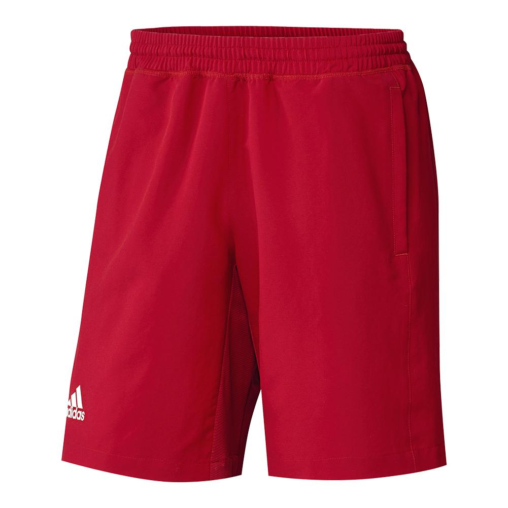 Men's T16 Tennis Short Power Red