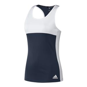 Women`s T16 CC Tennis Tank Collegiate Navy and White