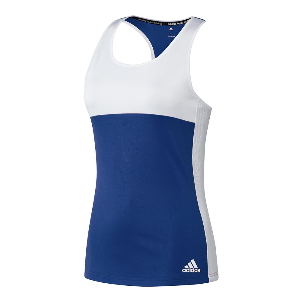 Women's T16 Cc Tennis Tank Collegiate Royal And White