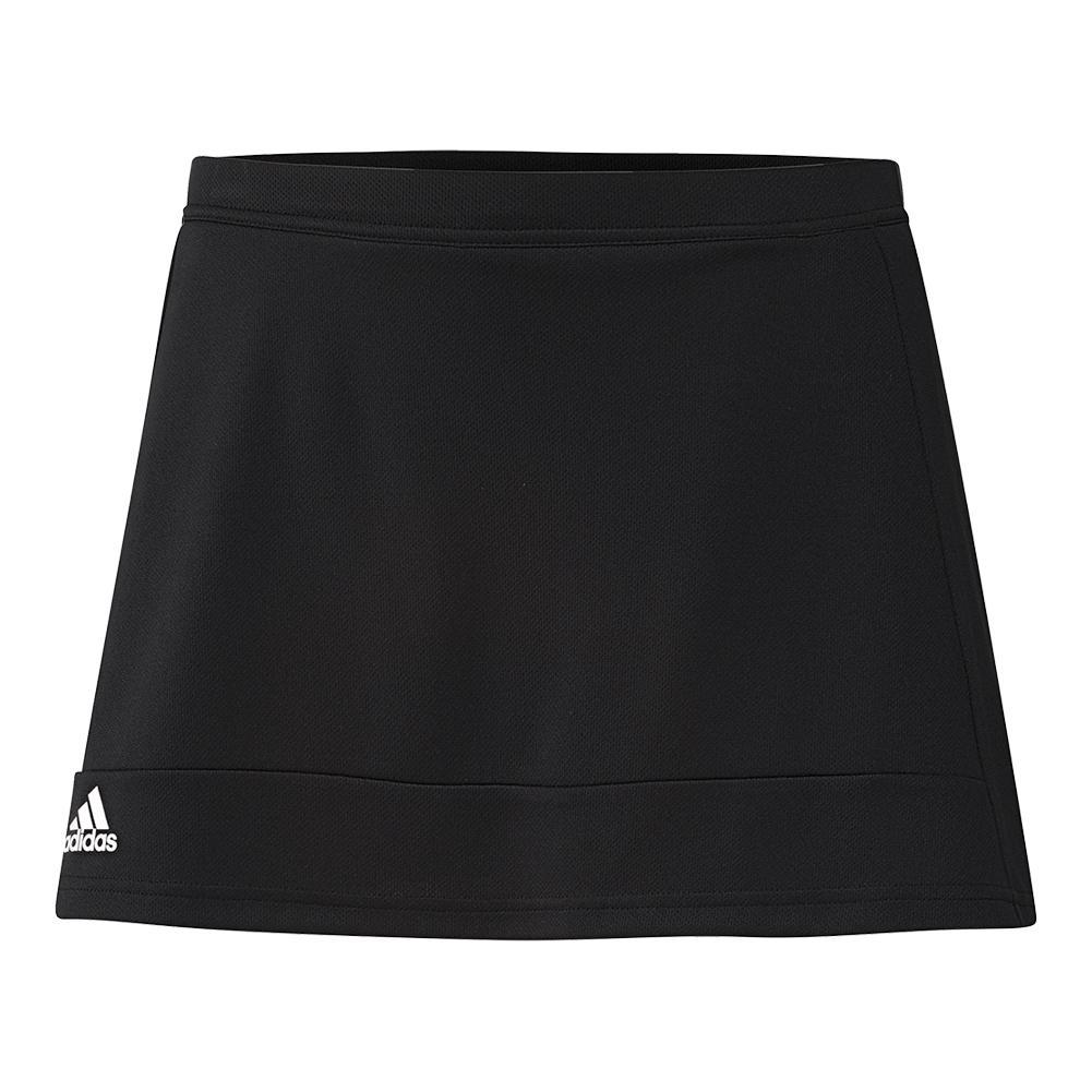 Women's T16 Tennis Skort Black