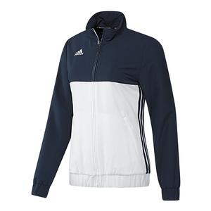 Women`s T16 Team Tennis Jacket Collegiate Navy and White