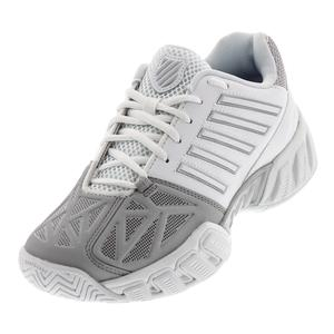 Juniors` Bigshot Light 3 Tennis Shoes White and Silver
