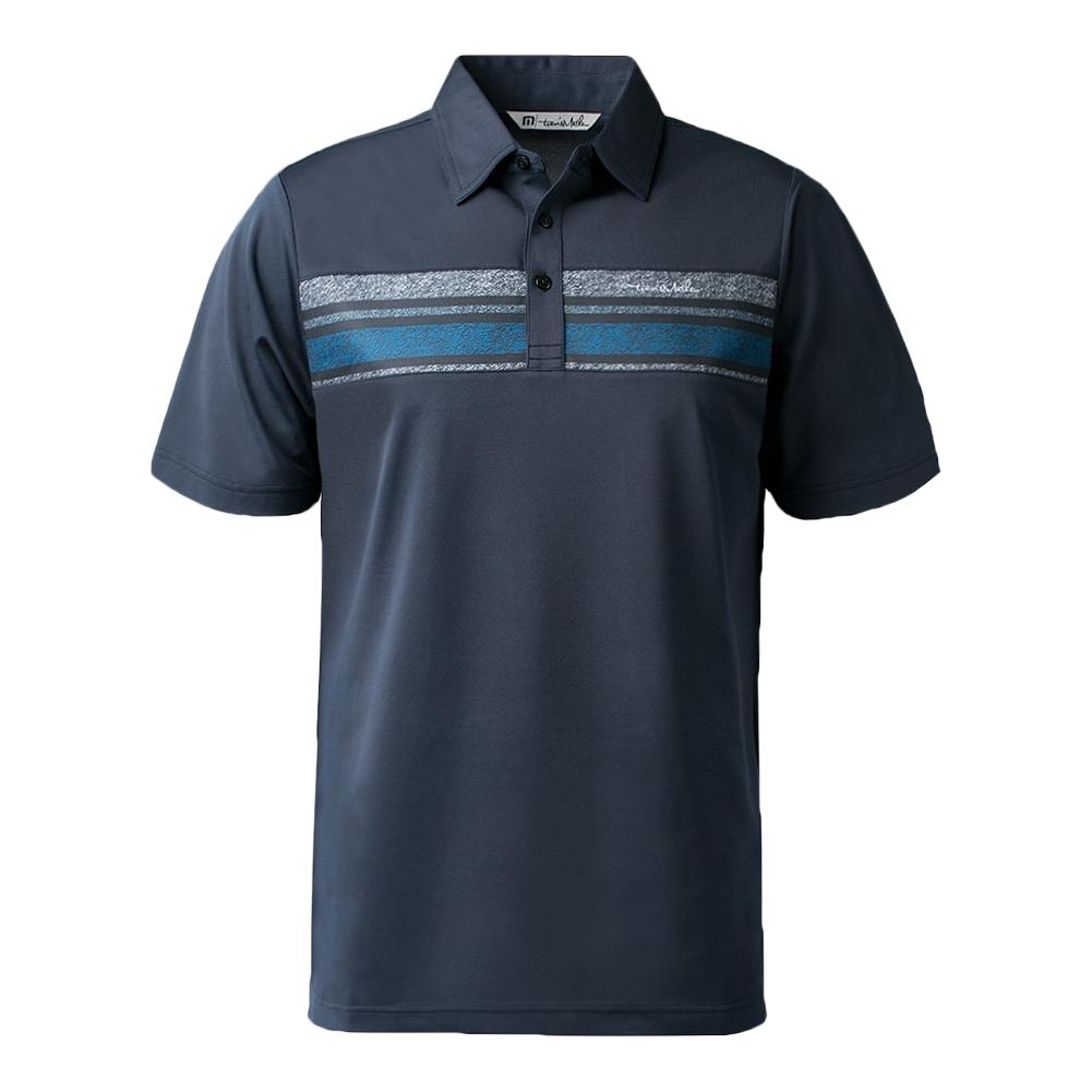 Men's The Brock Tennis Polo Blue Nights