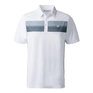 Men`s Wolken Tennis Polo White