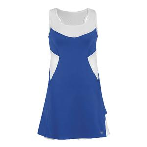 Women`s Tease Double Pleated Tennis Dress Royal