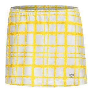 Women`s Chaos Sublimated Power Tennis Skort Gold
