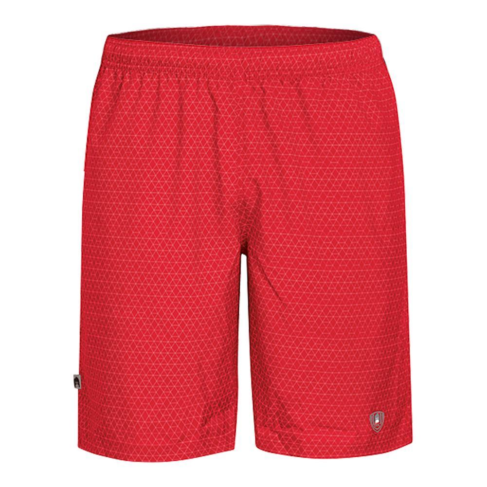 Men's Diamond Daze Tennis Short Red