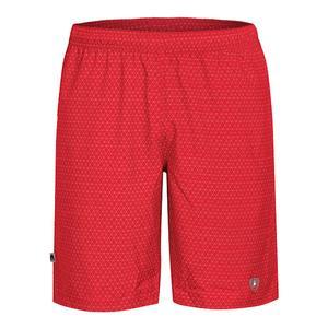 Men`s Diamond Daze Tennis Short Red
