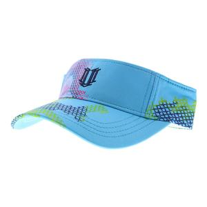 Women`s Tennis Visor Needlepoint Print