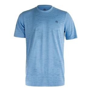 Men`s Gehl Tennis Crew Heather Dusk Blue