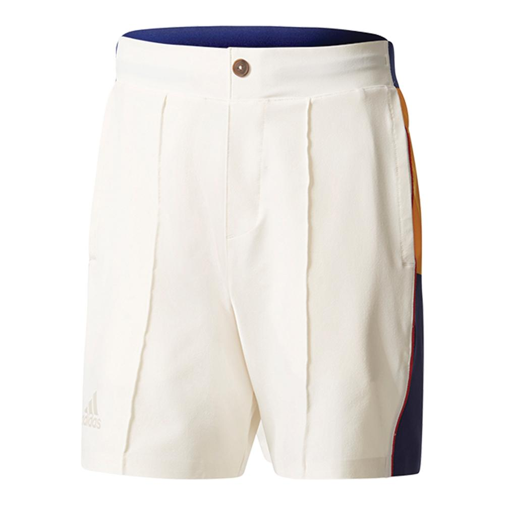 Men's Pharrell Williams New York Colorblock Tennis Short Chalk White