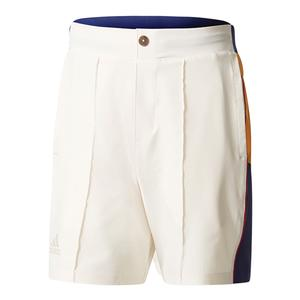 Men`s Pharrell Williams New York Colorblock Tennis Short Chalk White