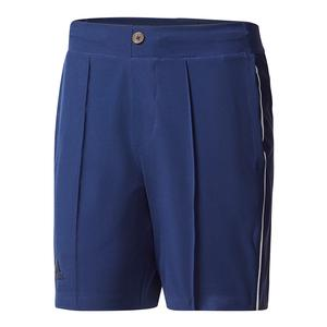 Men`s Pharrell Williams New York Colorblock Tennis Short Dark Blue