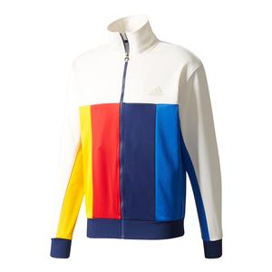 Men`s New York Pharrell Williams Tennis Jacket Chalk White