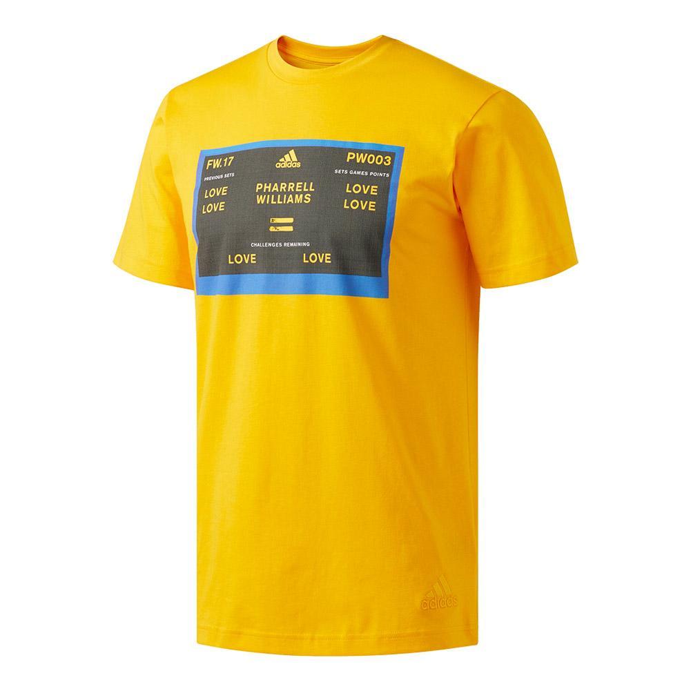 Men's New York Pharrell Williams Graphic Tennis Tee Yellow