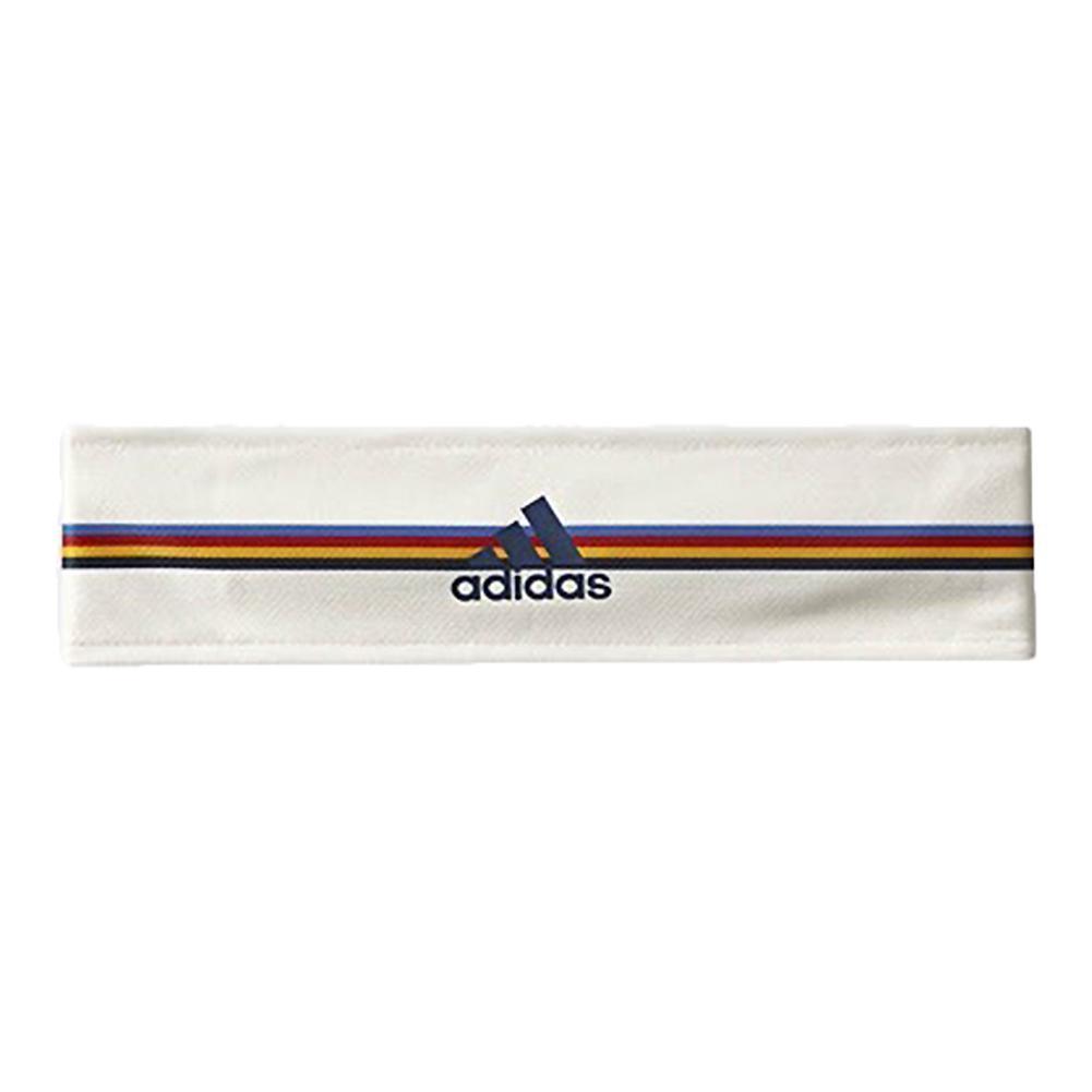New York Pharrell Williams Tennis Tieband Chalk White