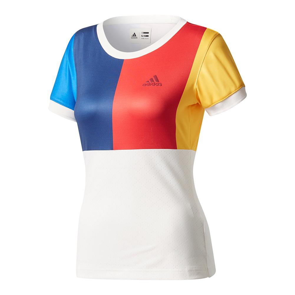 Women's New York Pharrell Williams Tennis Tee Chalk White