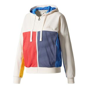 Women`s New York Pharrell Williams Tennis Jacket Chalk White
