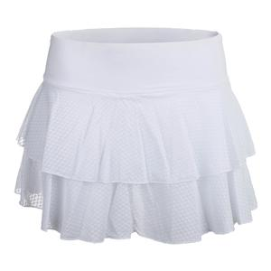 Women`s Peak 12.5 Inch Tennis Skort Bright White