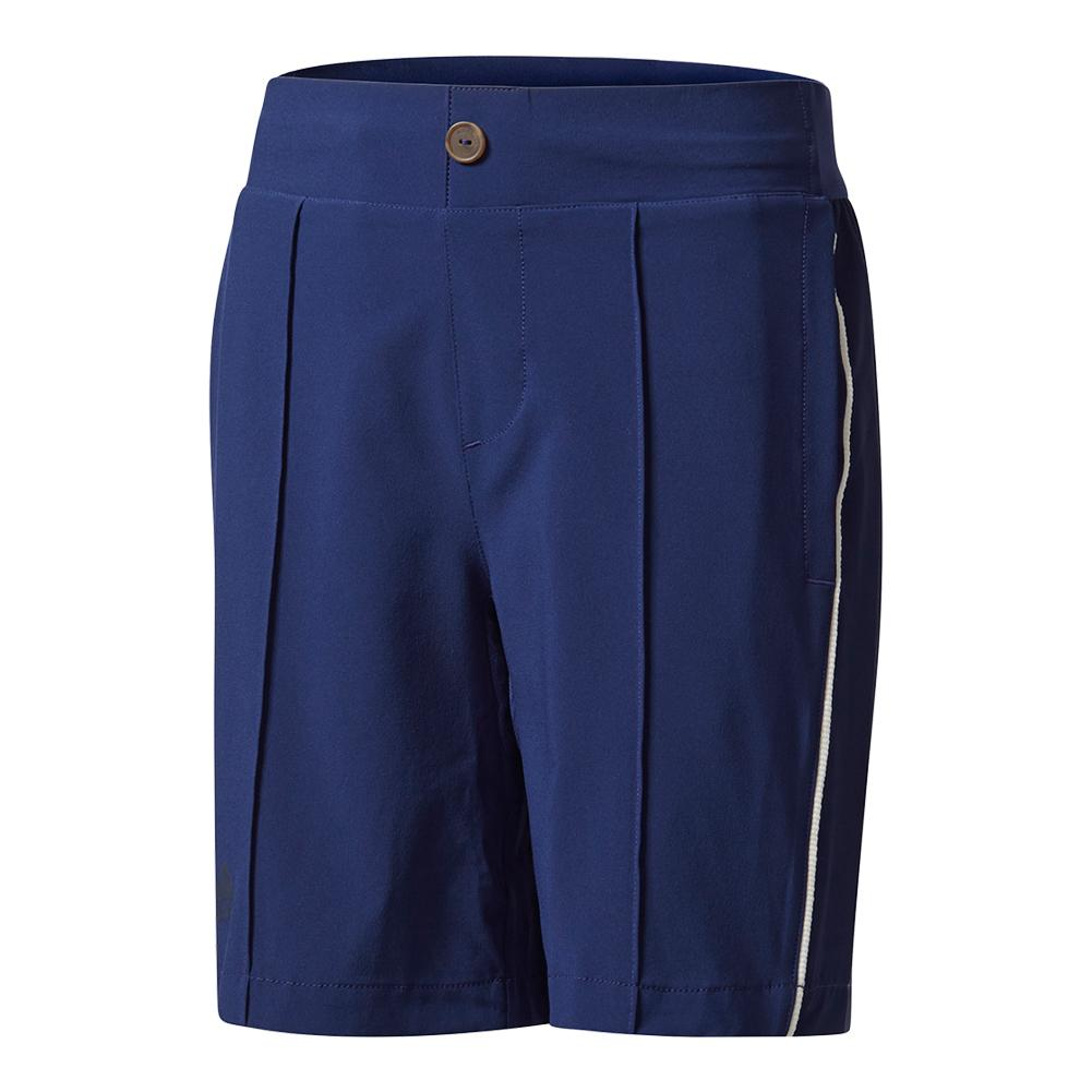 Boys ` New York Pharrell Williams Tennis Short Dark Blue