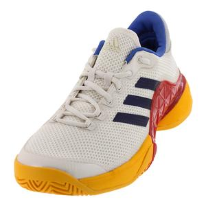 Men`s Barricade 2017 Pharrell Williams Tennis Shoes Scarlet and Chalk White