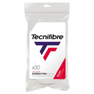 Pro Contact Tennis Overgrip White 30 Pack