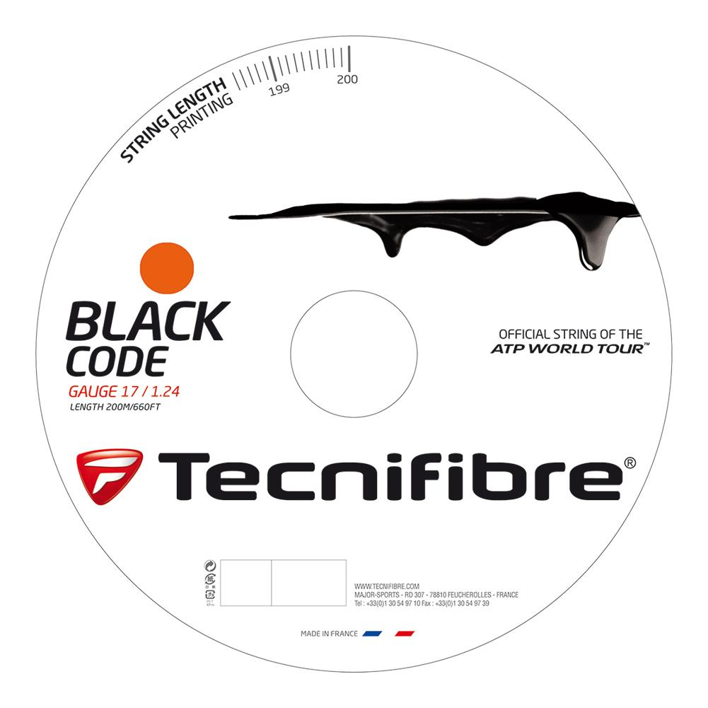 Black Code Tennis String Reel Fire