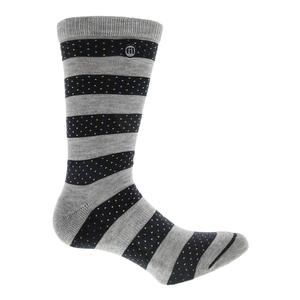 Men`s Daniel High Rider Tennis Socks Heather Alloy