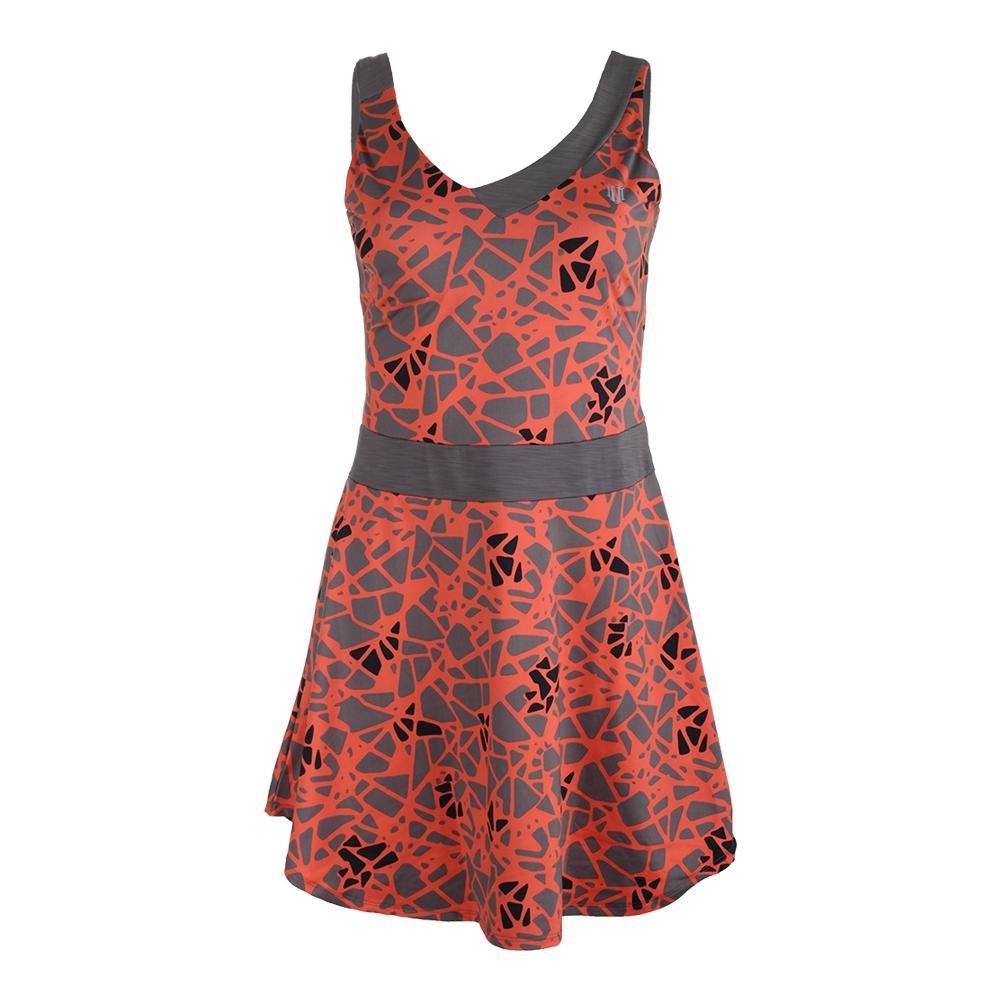 Women's Pendulum Tennis Dress Epiphany Print