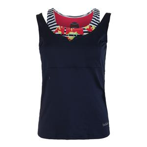 Women`s Tulip Fields Tennis Tank Iris
