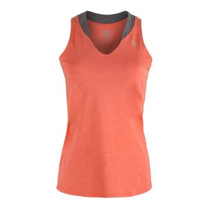 Women`s Love Tennis Tank Tangerine