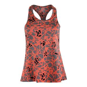 Women`s Raceday Tennis Tank Epiphany Print