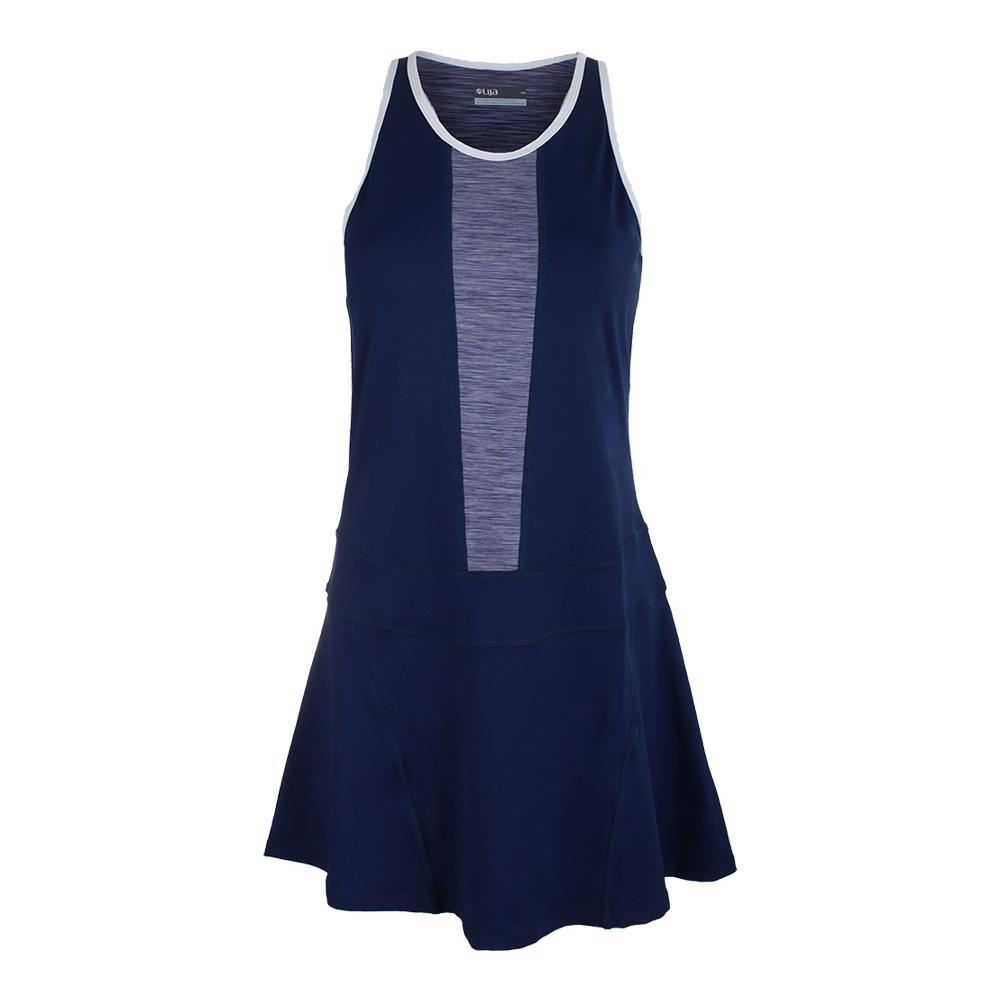 Women's Spin Tennis Dress Ocean And Violet