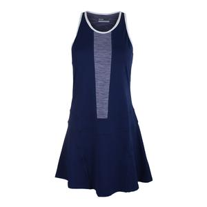 Women`s Spin Tennis Dress Ocean and Violet