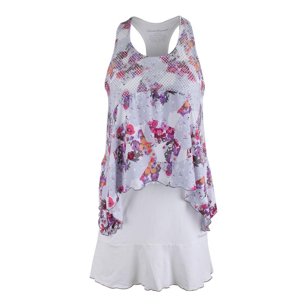 Women's Tennis Dress White And Print