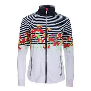 Women`s Tulip Fields Graphic Tennis Jacket Print