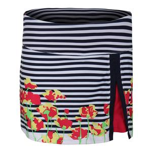 Women`s Tulip Fields Graphic Tennis Skort